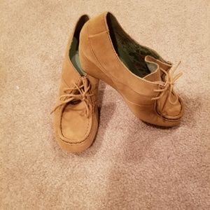 70's inspired wedges